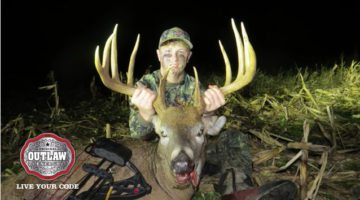 Video: 16 Year Old Shoots Giant Buck! Must Watch!