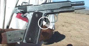 Less than 5 exist today — the ultra rare full auto 1911 pistol