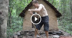 True survivalist shows you how to make ancient bow and arrow