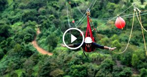 Meet the Monster, the longest, tallest, fastest zipline in the world