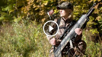 Say goodbye to crossbows, the bull pup AIRBOW has revolutionized the future of hunting