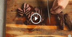 Grill up the best venison you've ever had with no grill and no effort