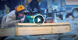 See how the team behind the amazing 4210-yd rifle shot brought the whole thing together