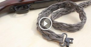 Have some excess para-cord laying around? Use it to whip yourself up this DIY rifle sling instead.