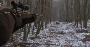 Watch a hunter hit 7 running boar in 12 seconds with a bolt action