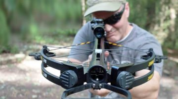 All new shotgun crossbow can fire anything from arrows to shot pellets
