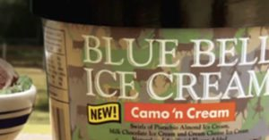 Blue Bell announces special camo ice cream just in time for deer season
