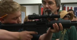 Colorado middle schoolers are learning firearms safety from the comfort of their classroom