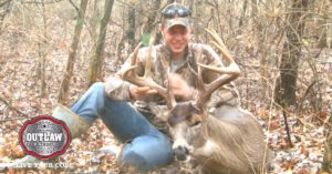 Hunter nabs the 9-pointer of his dreams right as last light fades