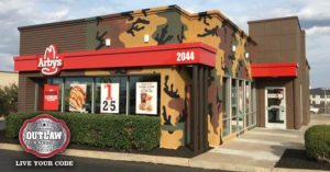 Hunting themed Arby's runs out of deer meat on the first day