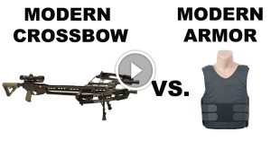 It can stop bullets, but will this body armor protect you from an broadhead arrow?