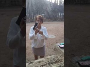 You Won't Believe How Many Guns She Takes Out Of Her Concealed Carry Holsters