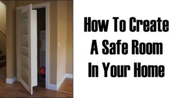 DIY Project: How To Create Your Own Panic Room