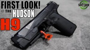 A Striker-Fired 1911!? | The HUDSON H9 First Look At The Range!