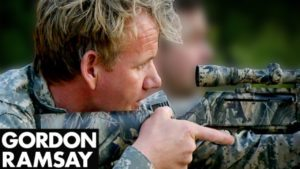 Gordon Ramsay Goes Wild Boar Hunting, First Butchering in the Wild (graphic images)