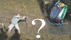 How well can a 130-lb English warbow penetrate steel plate armor?