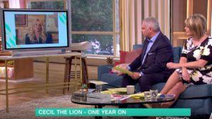 ITV Interview on This Morning with Olivia Opre vs Virginia McKenna on Big Game Hunting
