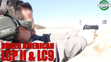 100 Yard Hits With A Sub-Compact! | The NEW Ruger LC9 & Ruger LCP II