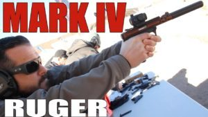 One-Button Take-Down Finally!   The NEW Ruger Mark IV