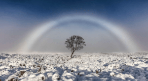 AMAZING Ghost Rainbow Spotted in Scotland!