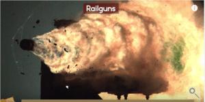 rail guns