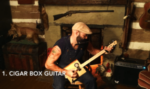 reverend peyton cigar box guitar