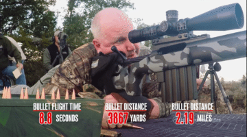 VIDEO: Marksman Hits an AMAZING 4,549 Yard Shot With HCR's Rifle in 375 Cheytac