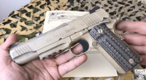 Video: A Look at the Colt CQBP M45A1 Decommissioned 1911 USMC Special Operations Pistol