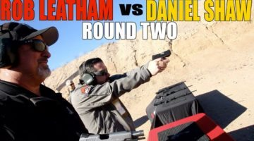 Rob Leatham vs. Daniel Shaw ROUND TWO! | Springfield Armory EMP4