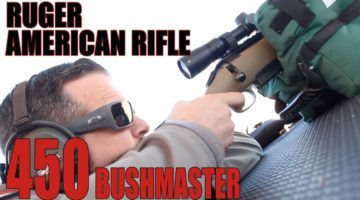 Drop Game INSTANTLY | The Ruger American in .450 Bushmaster