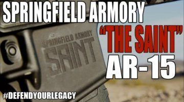 Springfield Enters the AR15 Market with the Springfield Armory SAINT