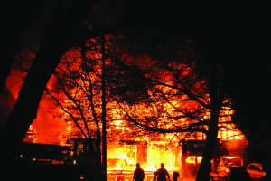 House Fire: Near Total Loss