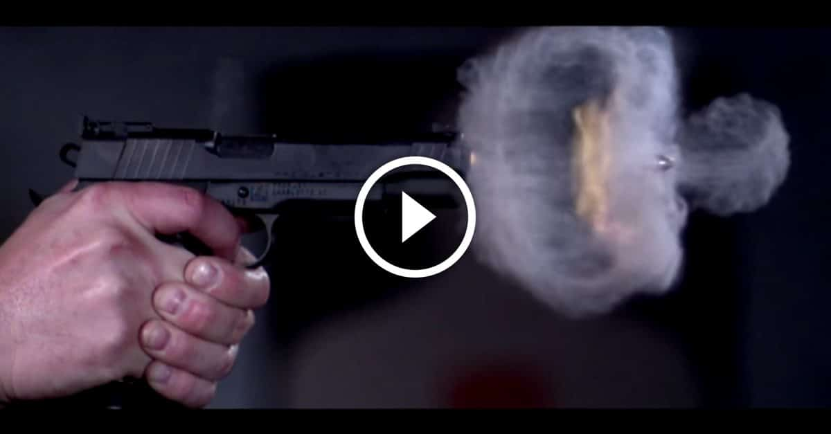 See a pistol shot like never before at 73,000 fps - GetZone
