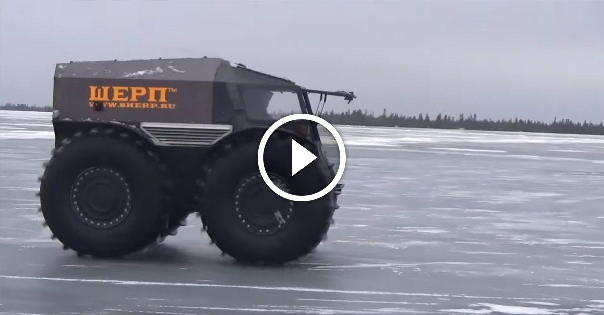 This Russian off road vehicle is an absolute beast on any terrain — WATCH it in action!