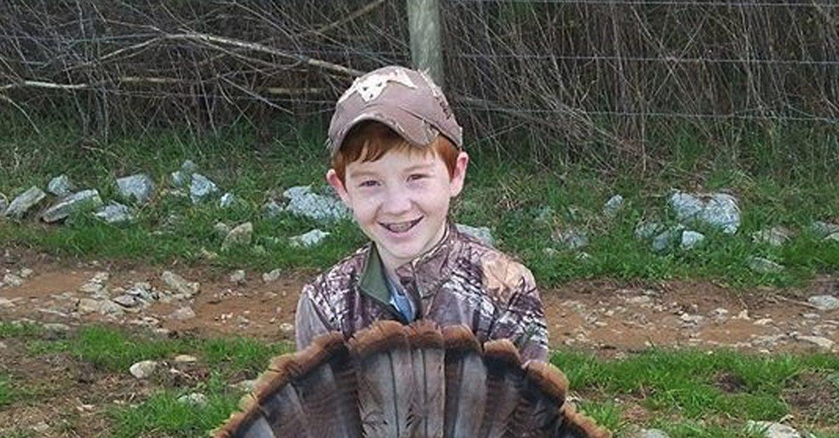 Incredibly rare turkey makes 13-year-old hunter a local legend