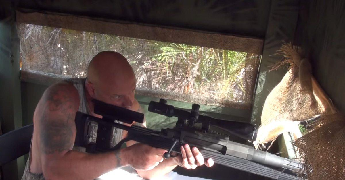 Video:  50 Cal BMG Hog Hunt Controversy — Did this hunter go too far?