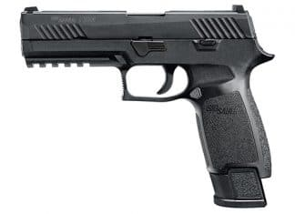pistol, sig sauer, sig sauer p320, voluntary upgrad