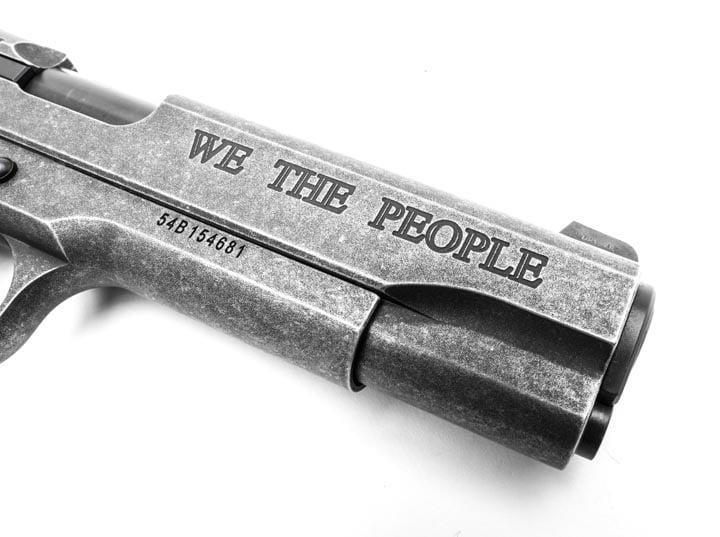 "SIG SAUER ""We The People"" 1911 Pistol: Paying Homage to America"