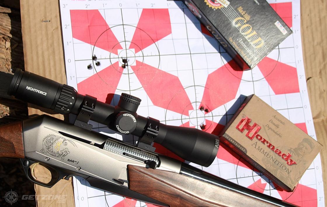 hunting, rifle, multi-purpose rifle, browning, getzone hunting, getzone shooting, rifle, hornady