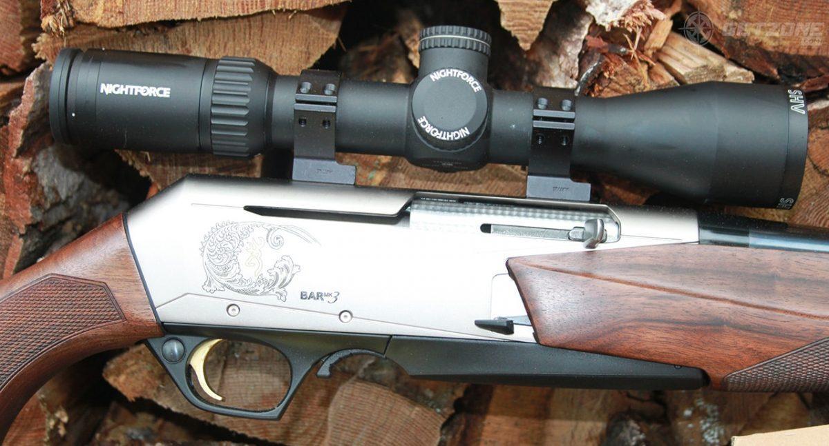 hunting, rifle, multi-purpose rifle, browning, getzone hunting, getzone shooting, rifle, nightforce