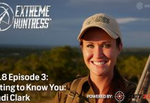 Extreme Huntress 2018 Episode 3 hunting conservation deer hunting axis deer