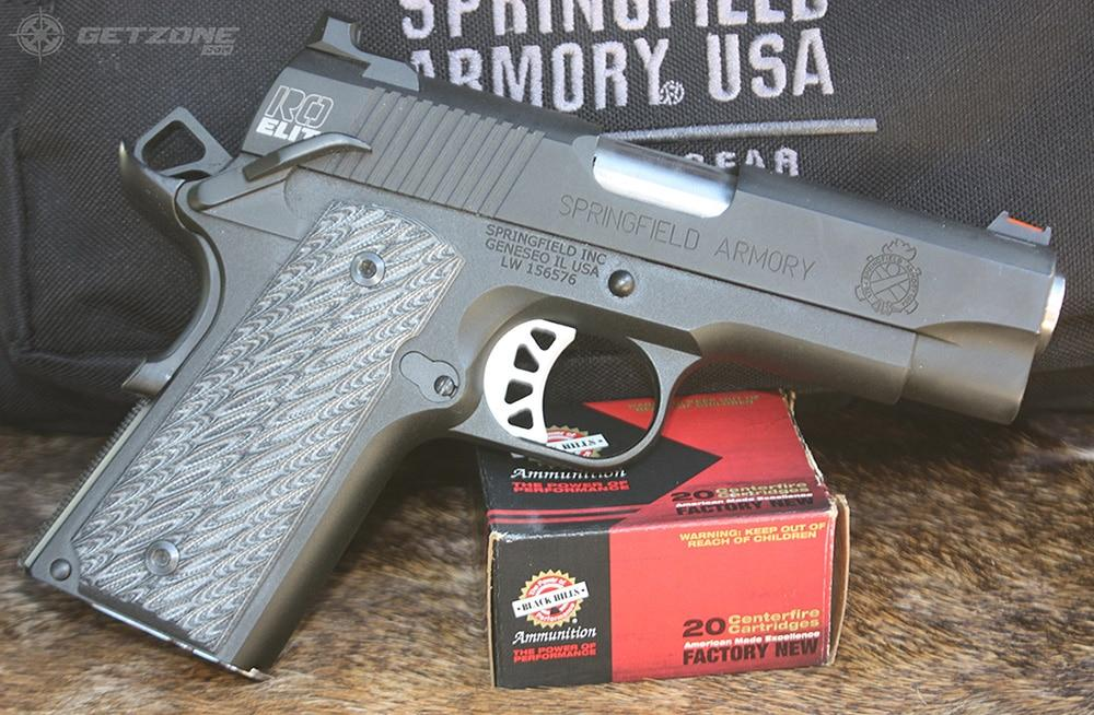 springfield armory, handgun, gun, new guns, getzone shooting, concealed carry, RO elite