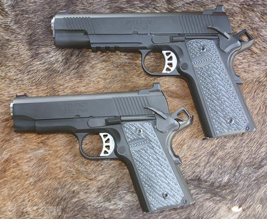 A Pair Of Elite 1911's: Springfield Armory's New Range Officers
