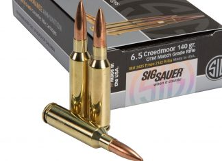 sig sauer, ammo, ammunition, new ammo, rifle