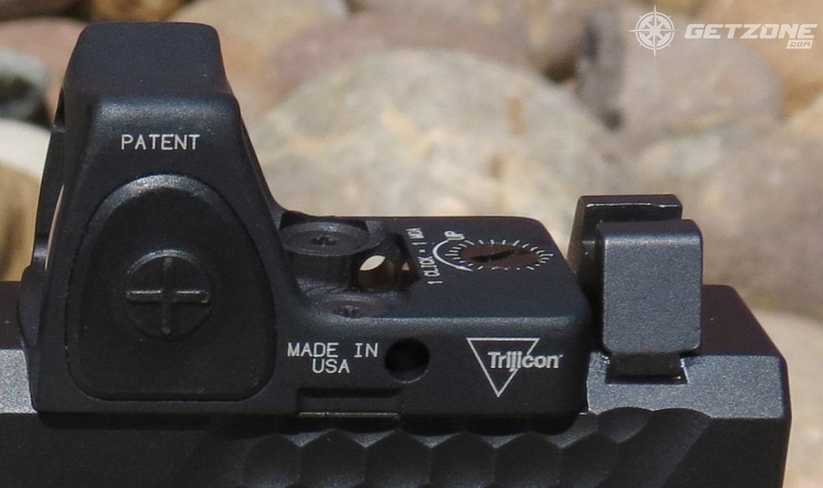optics, trijicon rmr, handgun optics, glock, concealed carry
