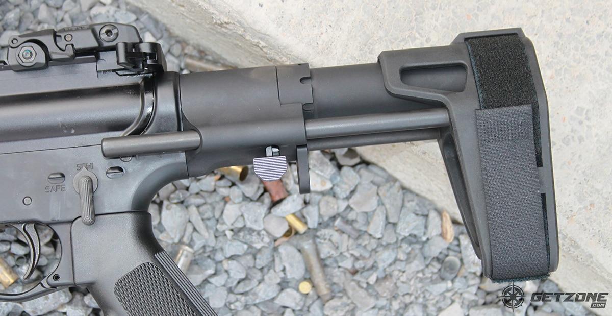 sb tactical, sbpdw brace, ar pistol brace, new guns and gear
