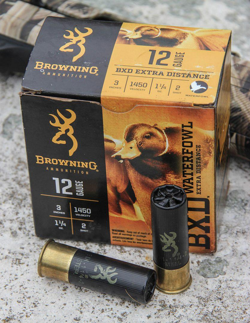 browning bxd, waterfowl, waterfowl hunting, hunting gear, new gear, ammunition