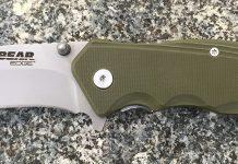bear edge, pocket knife, hunting, gear, camping, knife