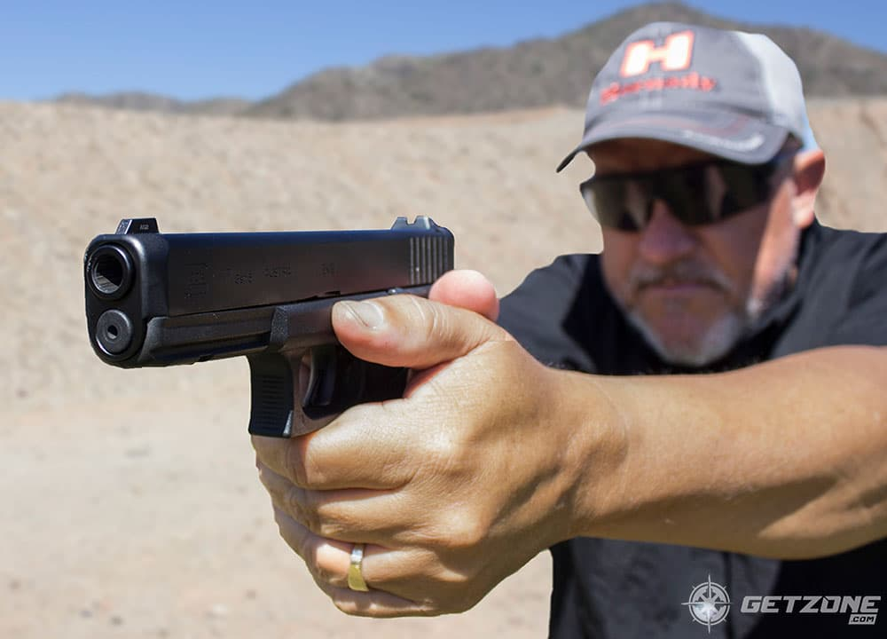 Glock, gen5, shooting, guns, new guns, getzone shooting, glock gen 5