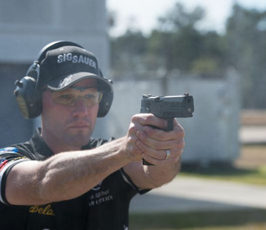 sig p320 pistol max running max outdoor shooting